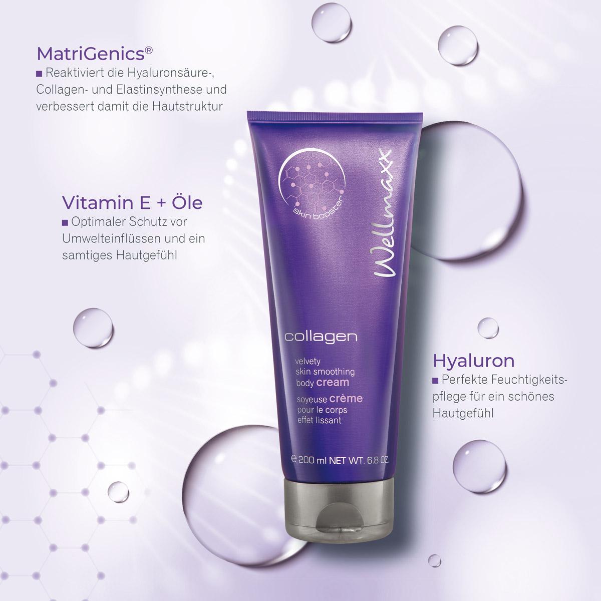 WELLMAXX collagen Body Cream Inhaltsstoffe