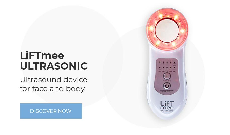 LiFTmee ULTRASONIC Ultraschallgerät für das Gesicht