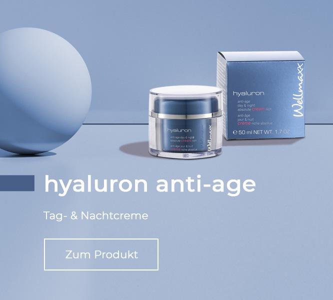 WELLMAXX hyaluron cream rich